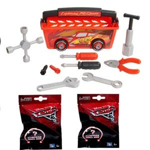 Disney Cars Quick Fix Toolbox BUNDLE NWT